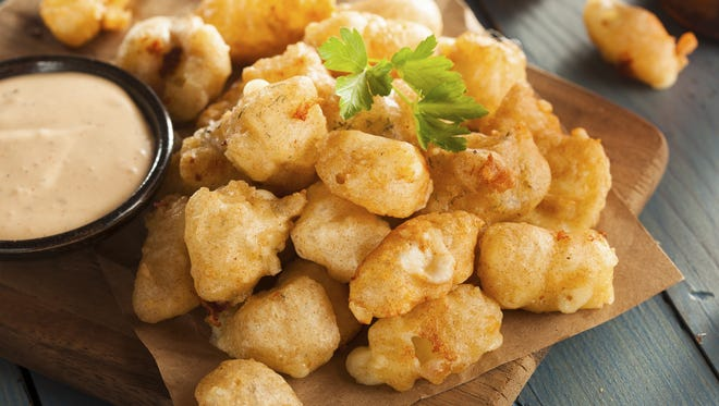 Beer Battered Wisconsin Cheese Curds.