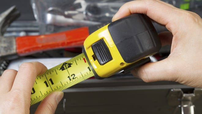 Take your toolbox with you wherever you go. Include a tape measure to ensure your furnishings will fit.