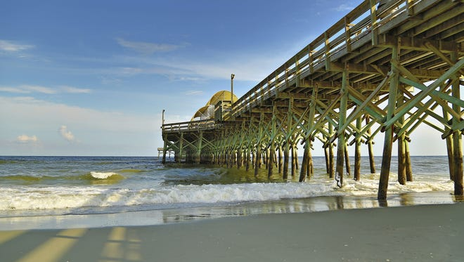 Myrtle Beach, S.C., is Google's most-searched beach destination leading up to Memorial Day 2015.
