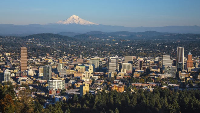 Portland, Oregon and Mount Hood. Oregon is the 2nd worst state to make a living, according to The Cheat Sheet.