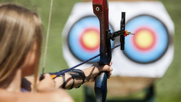 Mt. Pisgah State Park near Troy will host an archery
