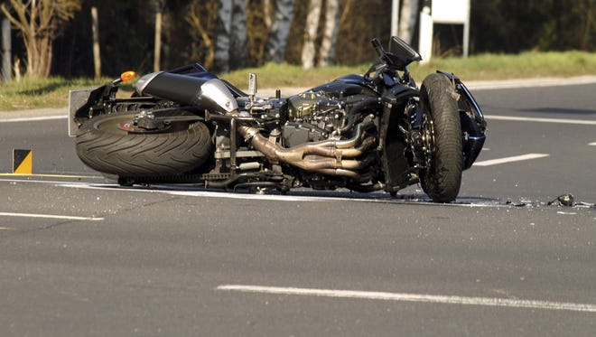 A Virginia man is dead after a motorcycle accident Saturday in Bradford County.