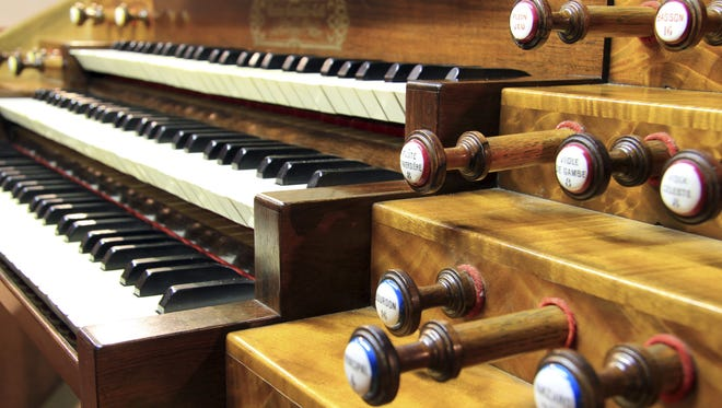 First Baptist Church will celebrate the 90th birthday of its Skinner Pipe Organ.