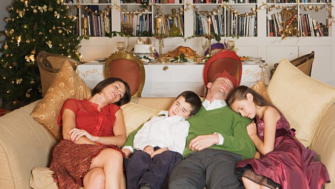 The events and the parties can leave you exhausted at the holidays.