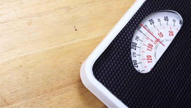 Analog weight scale. / Prapass Wannapinij/Getty Images/iStockphoto