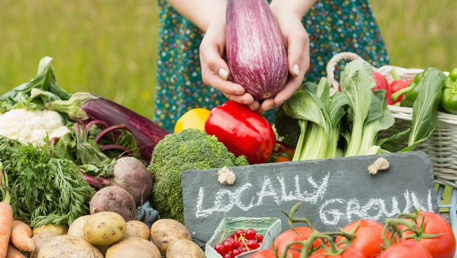 Attendees can stock up on frozen meats, eggs, garlic, mixed greens and root vegetables locally grown at Kellner Back Acre, River of Dreams, Hemlock Ridges and Red Belly Farms.
