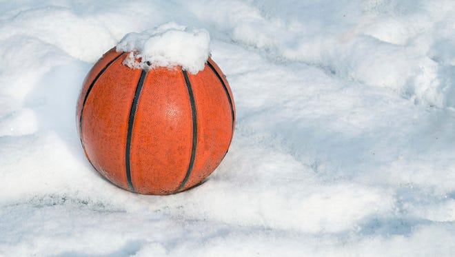 Tuesday's winter storm prompted a number of cancellations and postponements of high school sports events in central Wisconsin.