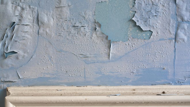 Lead paint is a danger in many older York City homes.