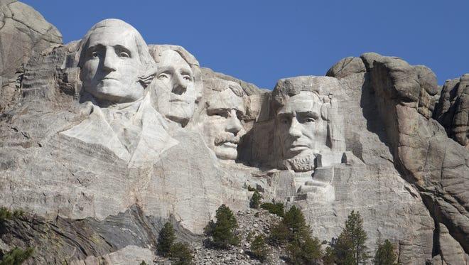 10. Mount Rushmore National Memorial, Keystone, S.D. - 2,434,297 visitors
