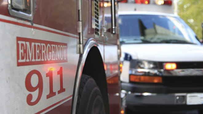 Two people were critically injured in separate accidents over the weekend.