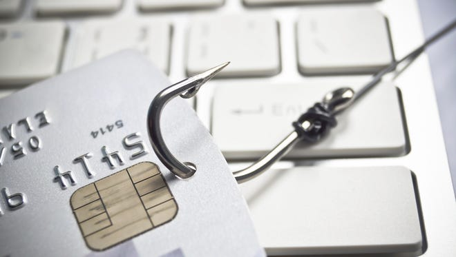 Phishing involves email that appears to be from someone you trust, and asks for a  username, password, credit card or other  numbers.