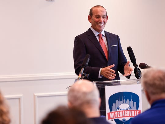 Major League Soccer Commissioner Don Garber discusses