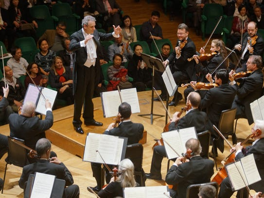 Louis Langrée is taking the Cincinnati Symphony Orchestra