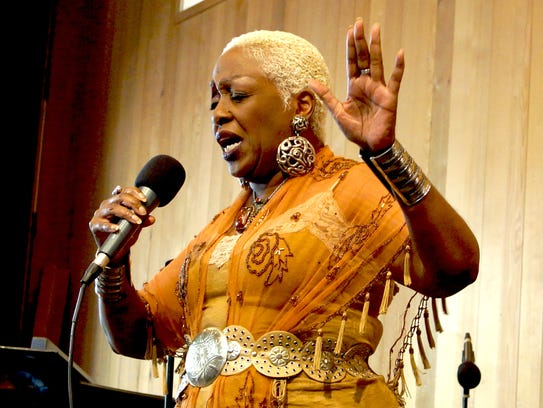 Tuesday: Rose Mallett, seen here performing at Jazz