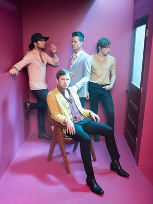 Kings of Leon will perform Oct. 21 at the KFC Yum Center.