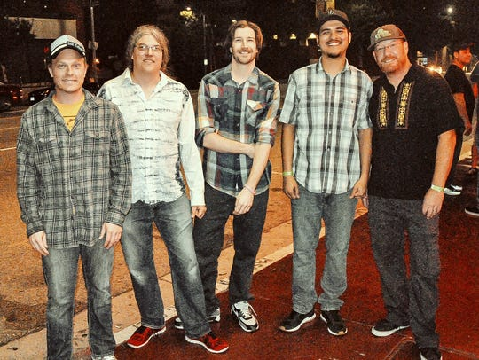 Shaky Feelin', a Camarillo band fronted by local guitar