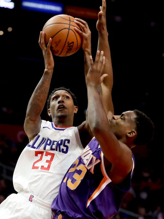 0c73eea1a Clippers lead all the way in beating Suns 108-94 to end skid