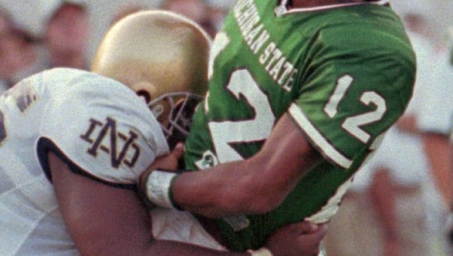 Ever see a number on a Michigan State football jersey and think of all the great players to wear it? Today, we decide who was the best Spartan to ever wear No. 12.