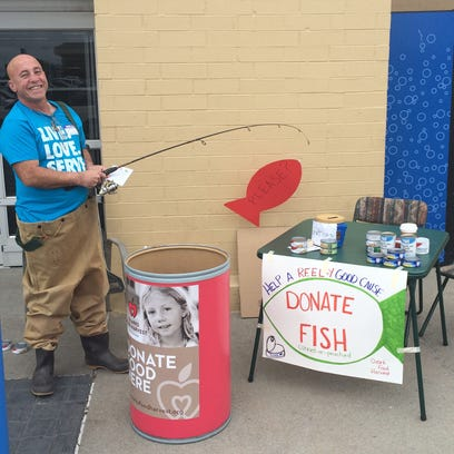 The Fish Drive emphasizes the donation of nutritious fish in cans or pouches.