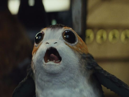 Porgs are making a big noise in 'Star Wars: The Last