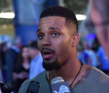 Ameer Abdullah said he wasn't threatened by talk o...