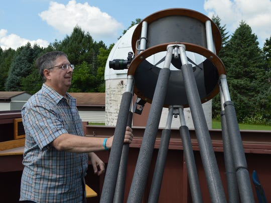 Paul Borchardt, the Milwaukee Astronomical Society's observatory director, has been a member of the nonprofit for 47 years.