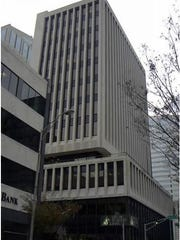 The seven-story building at 501 Union St., which just