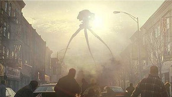 "The 2005 movie version of ""The War of the Worlds"""