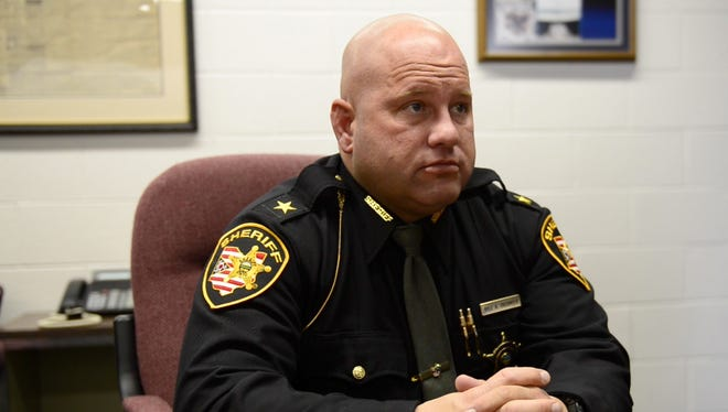 Kyle Overmyer, Sandusky County Sheriff, is under investigation for taking prescription drugs from local police departments.