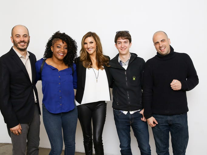 This week's #TalkingTech Roundtable panelists pose