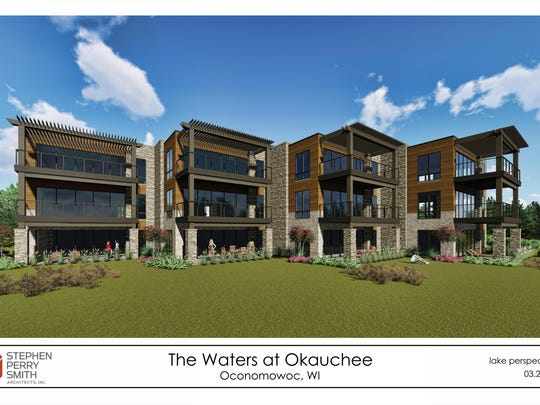 A condominium complex in the town of Oconomowoc that is being proposed will feature four units.