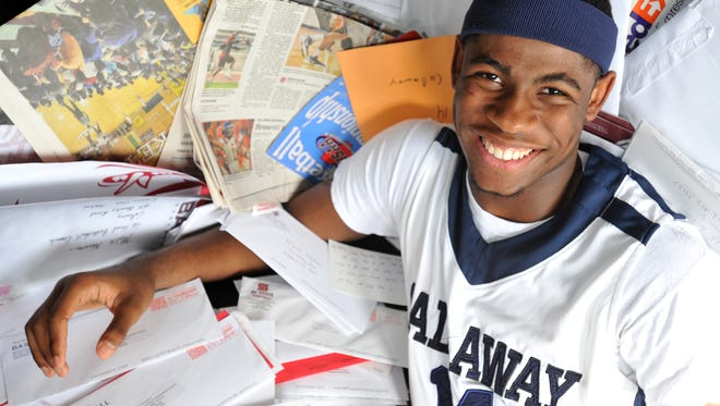 Callaway basketball player Malik Newman has been inundated with recruiting letters since he was a freshman.