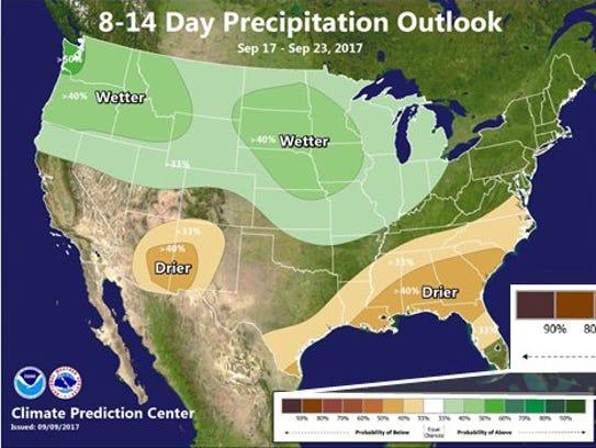 Long term forecast.