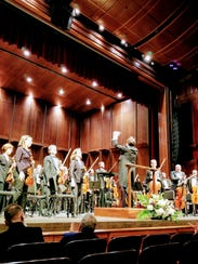 The Tallahassee Symphony Orchestra takes a bow at the