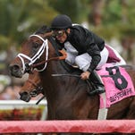 Eh Cumpari won Gulfstream's Palm Beach earlier this month, marking his first stakes victory.