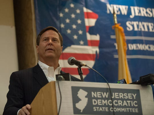 In this 2016 file photo, Rep. Donald Norcross speaks during a NJ delegation breakfast at the Renaissance Philadelphia Airport Hotel, Philadelphia.