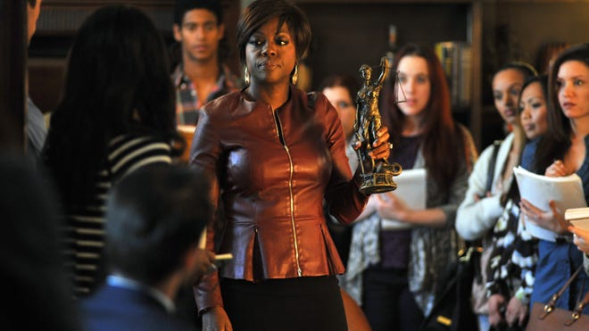 """Viola Davis plays a law professor and attorney in the new series """"How to Get Away With Murder,"""" premiering Thursday on ABC."""