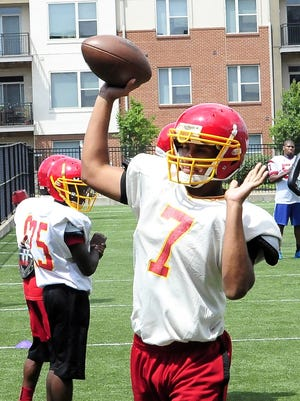 Purcell Marian Quarterback Ben Bates is hoping for a stellar season in 2016 for the Cavaliers.