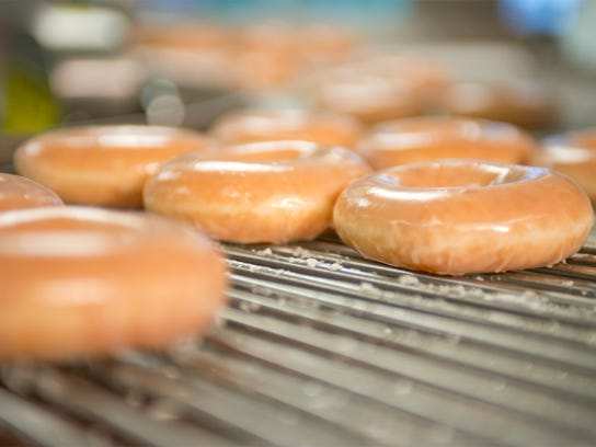 The forthcoming Fort Myers Krispy Kreme will be able to make up to 150 dozen doughnuts an hour.