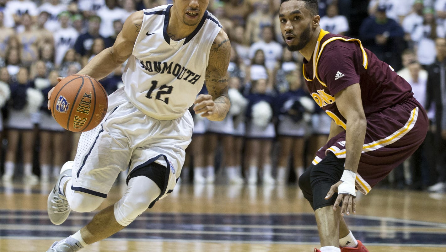 Is first-place Monmouth experiencing a late-season lull?