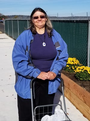 Sharon Polon could do more if she had a genuine walker with a seat that would allow her to rest when she needs to.