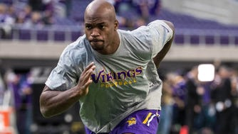 RB Adrian Peterson's 10-year run with the Minnesota Vikings ended earlier this month.
