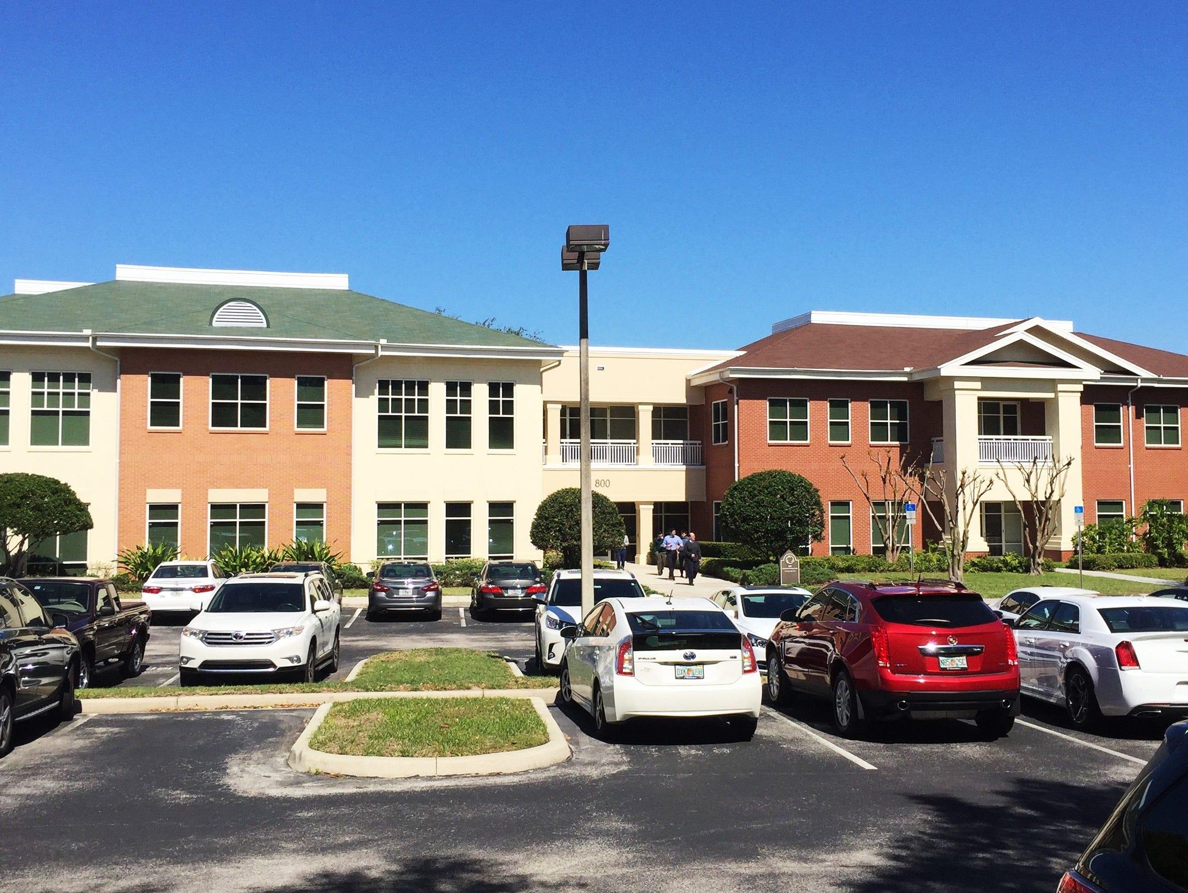 Consulate Health Care headquarters in Maitland, Fla.,
