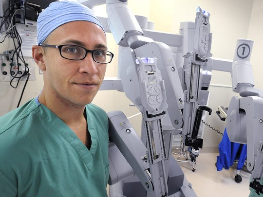 Dr. Brian Richardson recently was named chief of Robotics and Minimally Invasive Surgery at Jackson Hospital in Montgomery.