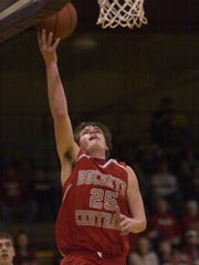 Abram Kaple of Buckeye Central goes up for a layup