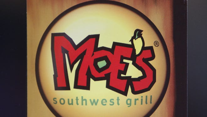 Moe's Southwest Grill offers a familiar assembly-line approach in making burritos, tacos, fajitas and other items.