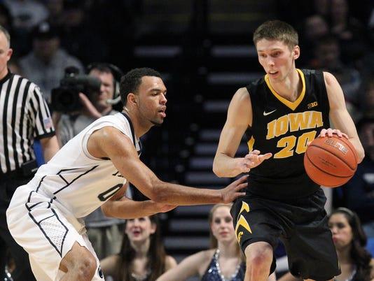 NCAA Basketball: Iowa at Penn State
