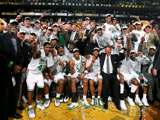 All of Boston's 11 championship teams since 2001, ranked