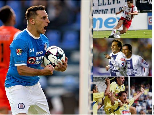 Christian 'Chaco' Giménez cosechó glorias con varios equipos del futbol mexicano.