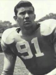 Doug Atkins during his playing days at the University